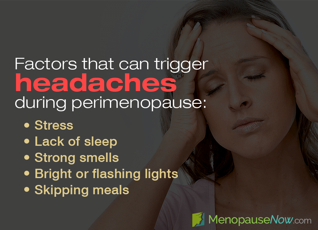 Headaches and migraines are often related to hormonal imbalance.