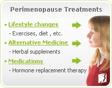 Perimenopause Treatments