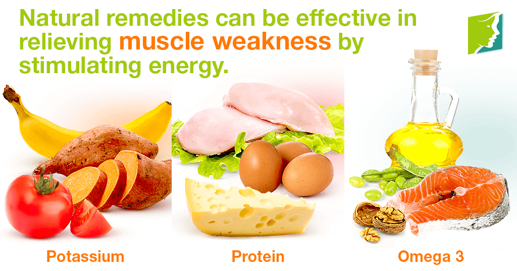 Natural remedies can be effective in relieving muscle weakness by stimulating energy.