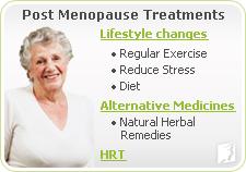 Post Menopause Treatments
