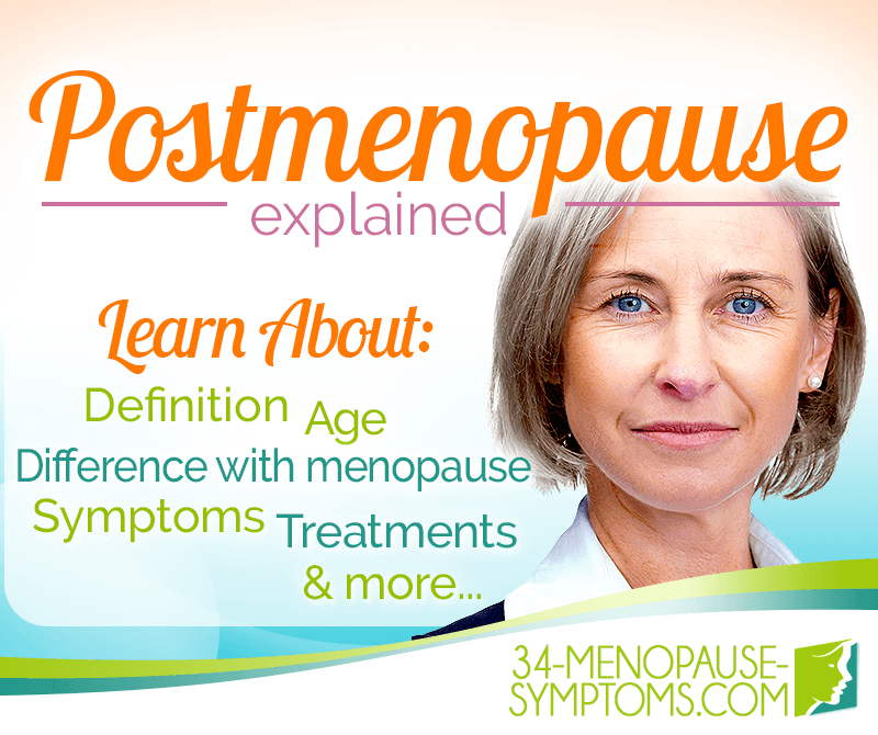 what is post menopause mean