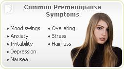 Common Pre-menopause Symptoms