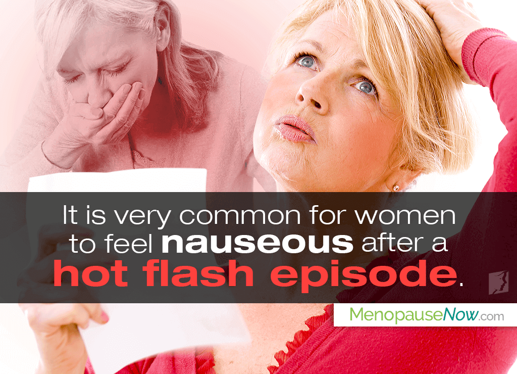 Nausea can occur due to an imbalance in serotonin levels.