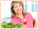 Alcohol is strongly discouraged during menopause