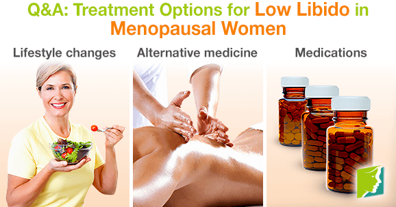 Q&A: Treatment Options for Low Libido in Menopausal Women
