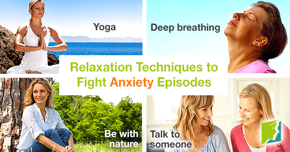 Relaxation Techniques to Fight Anxiety Episodes