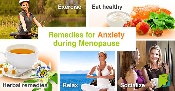 Remedies for Anxiety during Menopause