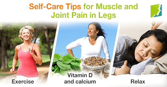 Self Care Tips for Muscle and Joint Pain in Legs