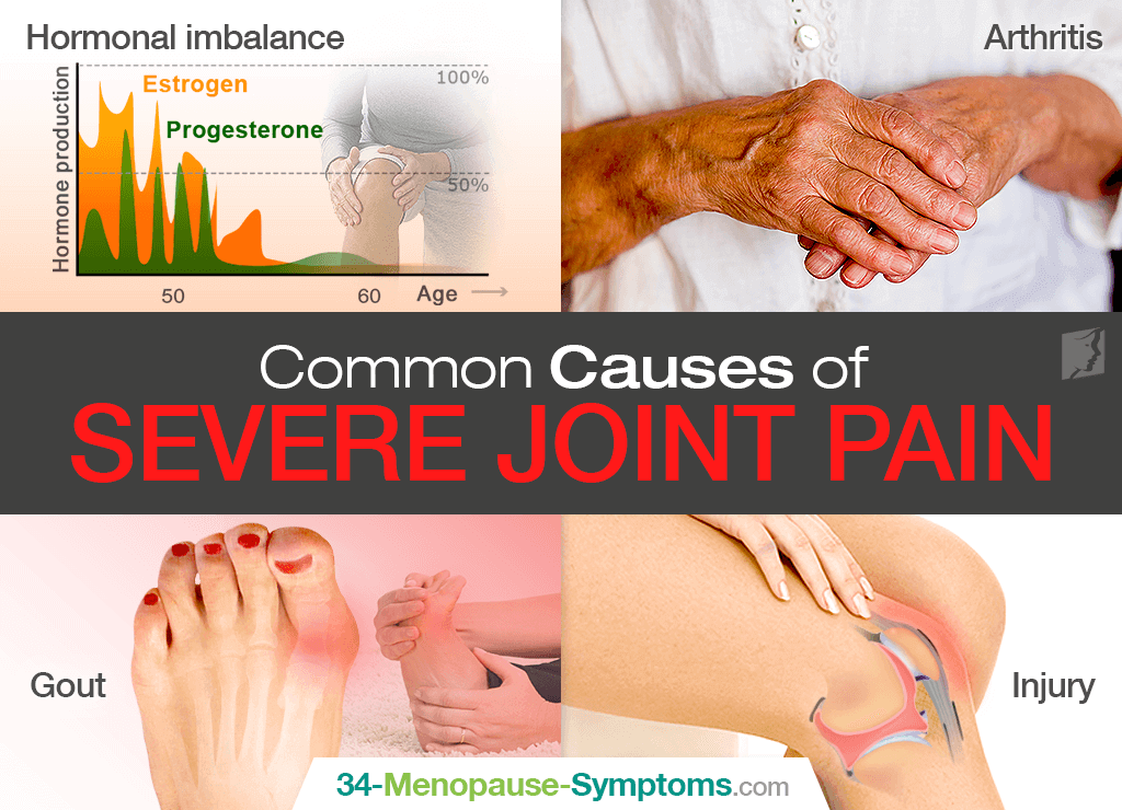 Severe Joint Pain: Causes and Treatments