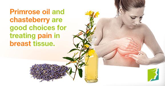 Primrose oil breast pain