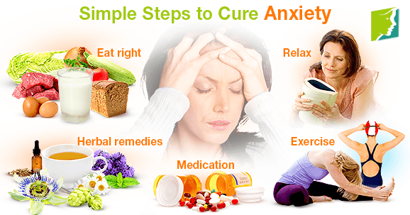 Simple Steps to Cure Anxiety