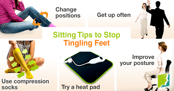 Sitting Tips to Stop Tingling Feet