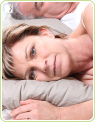 During menopause, you may have problems with insomnia