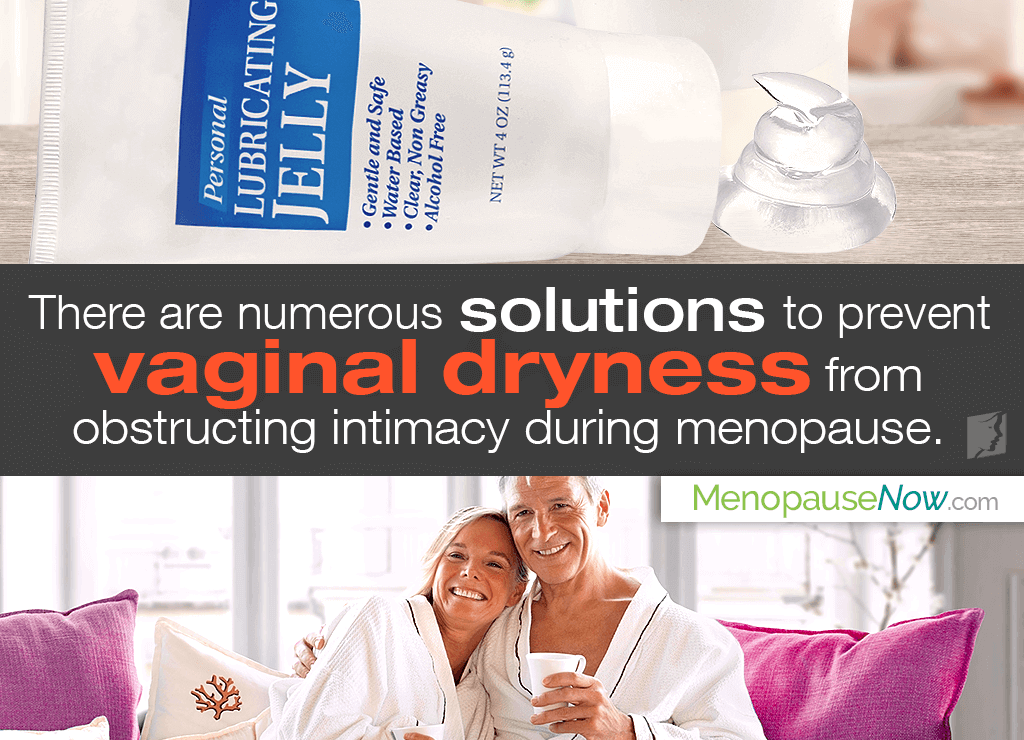 Instant relief from vaginal dryness during sex can be achieved by applying a water-based lubricant.