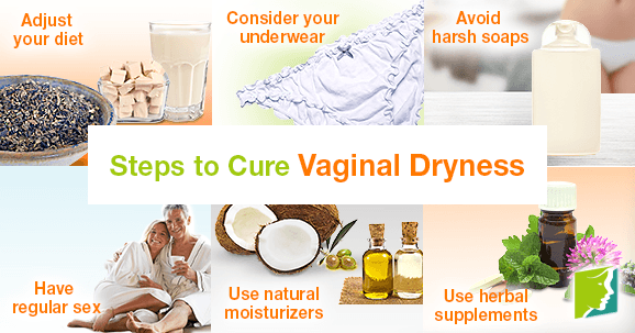 Steps to Cure Vaginal Dryness