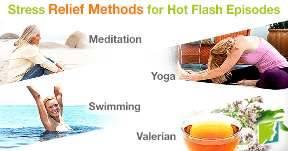 Stress Relief Methods for Hot Flash Episodes