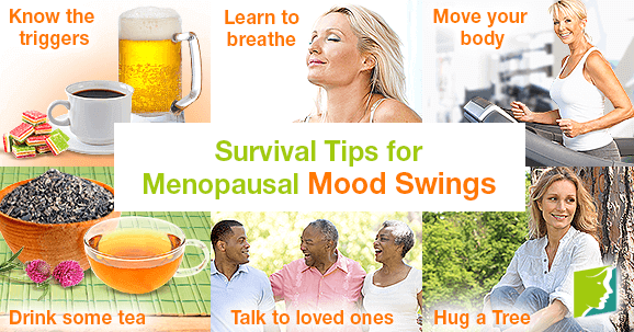 Survival Tips for Menopausal Mood Swings