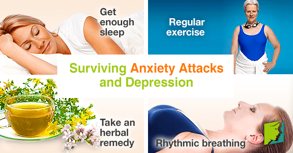 Surviving anxiety attacks and depression