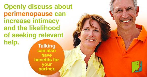 Talking about Perimenopause with your Partner