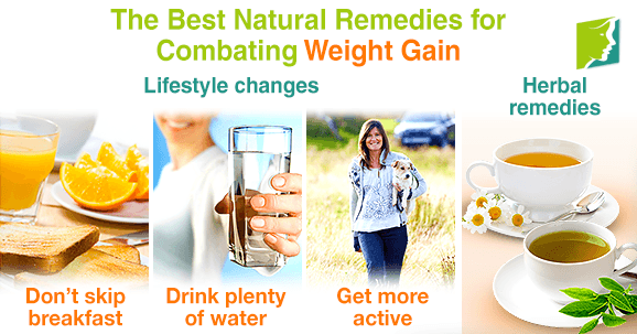 The Best Natural Remedies for Combating Weight Gain