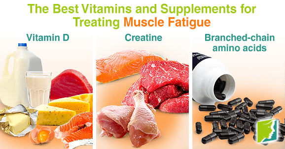 The Best Vitamins and Supplements for Treating Muscle Fatigue