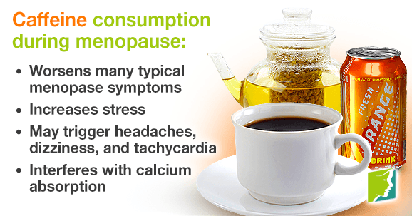 Cafeine consumption during menopause