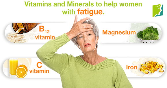 Vitamins and Minerals to Help with Fatigue