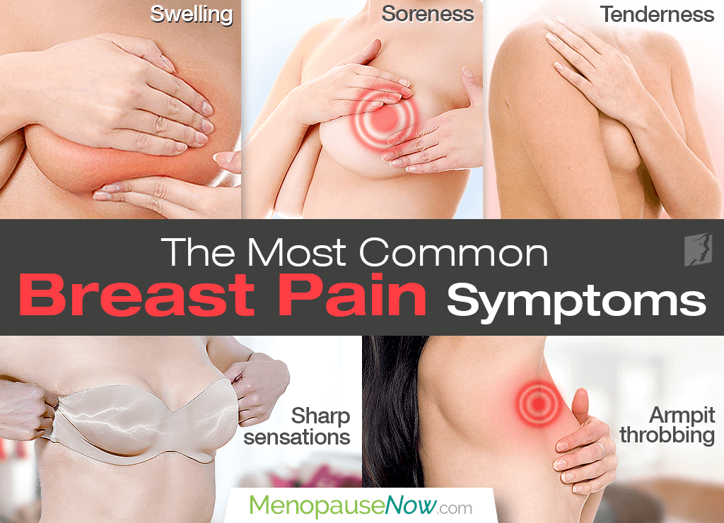 The Most Common Breast Pain Symptoms