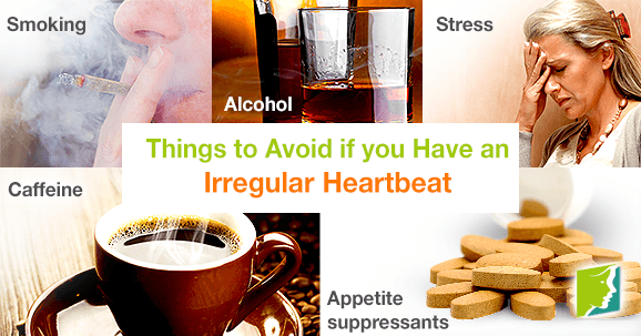 Things to Avoid if You Have an Irregular Heartbeat