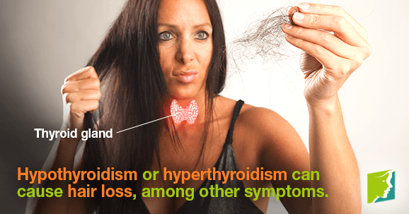 thyroid problems and hair loss