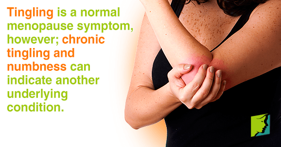 Chronic tingling and numbness can indicate another underlying condition