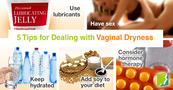 5 tips for dealing with vaginal dryness