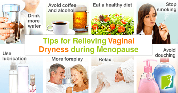 Tips for Relieving Vaginal Dryness during Menopause