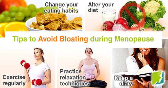 Tips to Avoid Bloating during Menopause