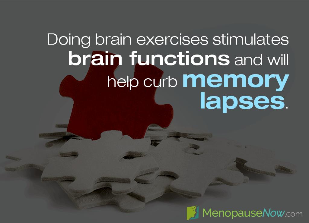 avoid memory loss during menopause