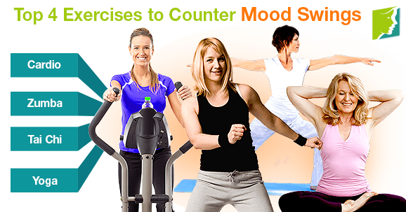Top 4 Exercises to Counter Mood Swings