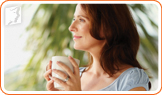 Avoid hot drinks if you suffer from hot flashes.