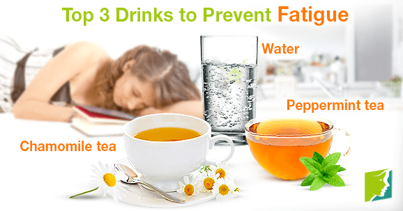 Top 3 Drinks to Prevent Fatigue