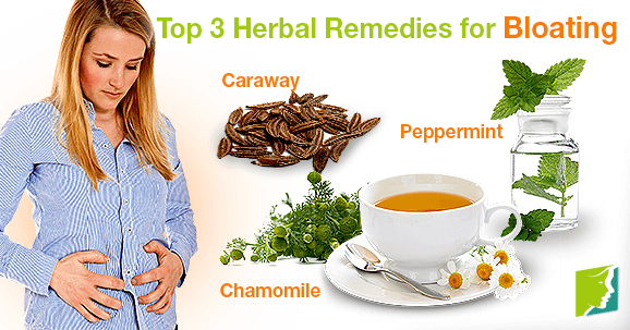 Top 3 Herbal Remedies for Bloating