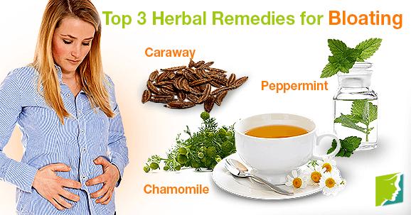Top 3 Herbal Remedies for Bloating