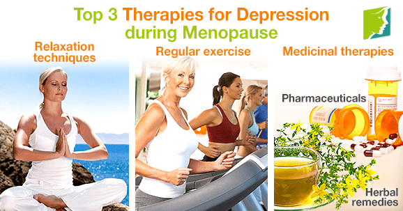 Top 3 Therapies for Depression during Menopause