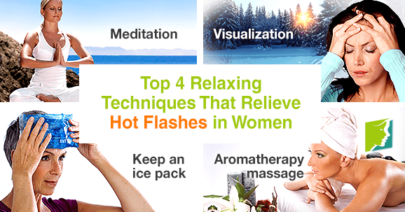 Top 4 Relaxing Techniques That Relieve Hot Flashes in Women1