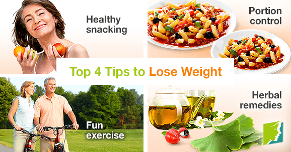 Top 4 tips to lose weight