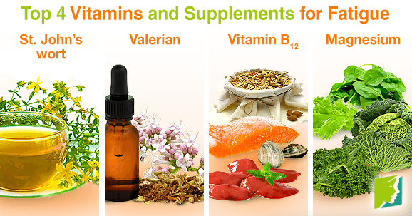 Top 4 vitamins and supplements for fatigue