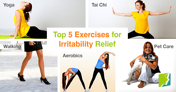 Top 5 Exercises for Irritability Relief
