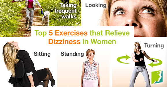 Top 5 Exercises That Relieve Dizziness in Women