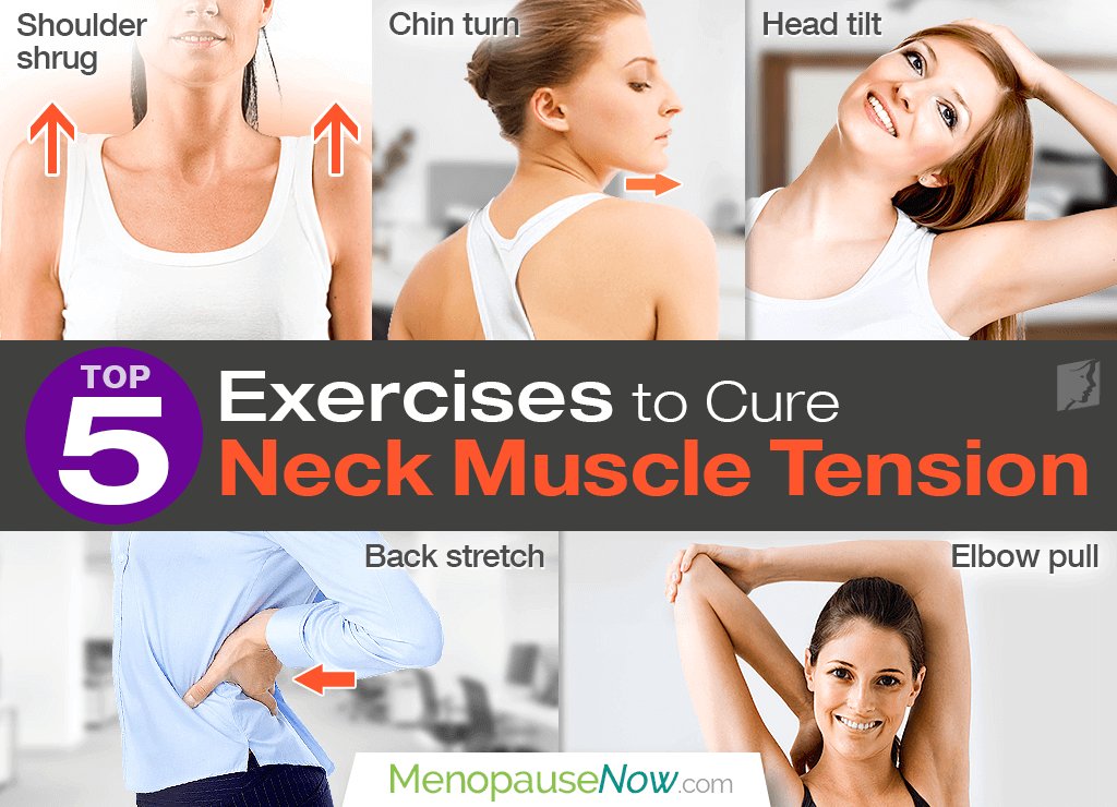 Top 5 exercises to cure neck muscle tension