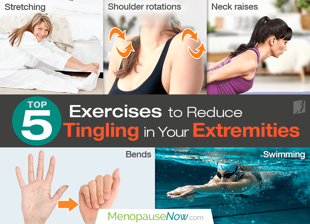 Top 5 Exercises to Reduce Tingling in Your Extremities