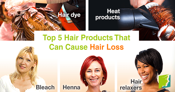Top 5 Hair Products That Can Cause Hair Loss