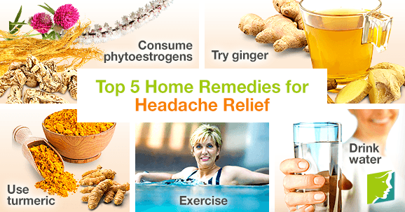 top 5 home remedies for headache relief. Black Bedroom Furniture Sets. Home Design Ideas